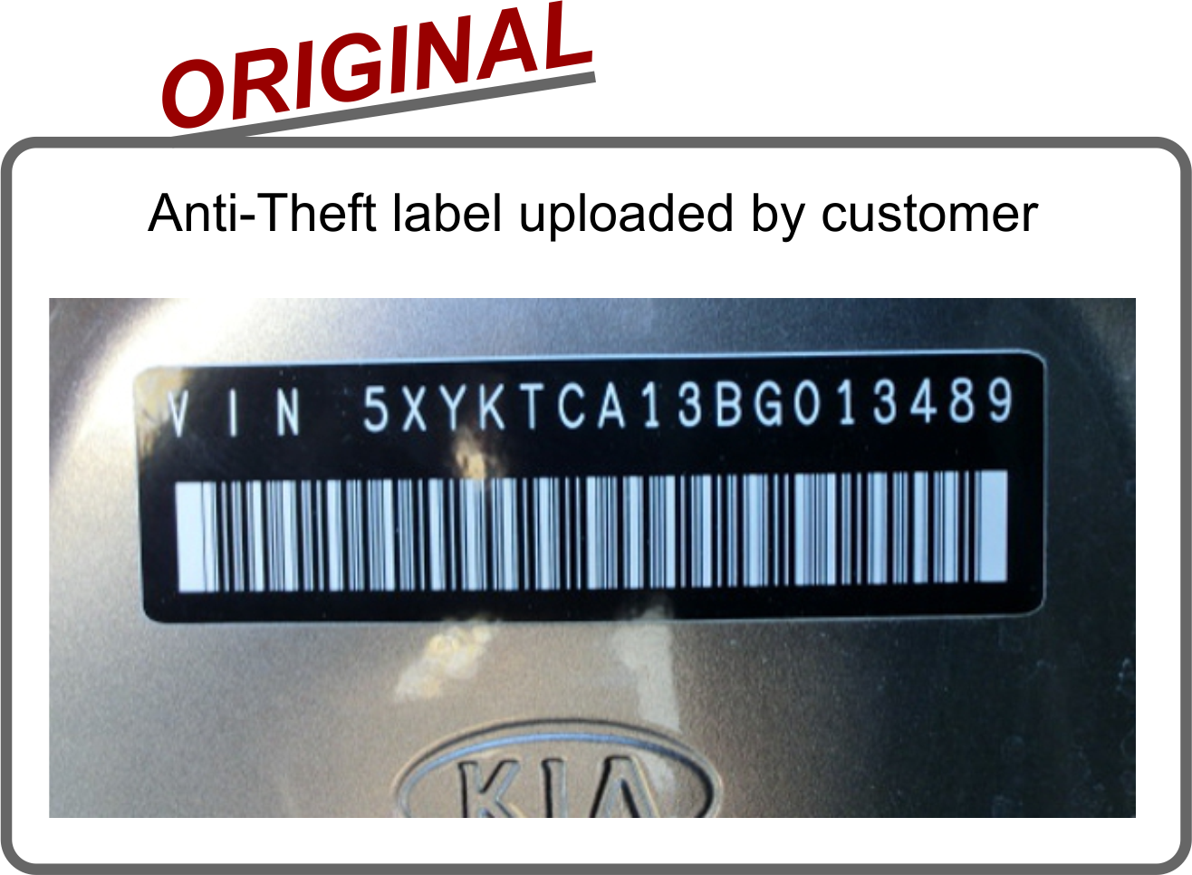 Anti-theft replacement labels